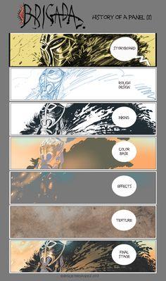 BRIGADA History of a panel (II) by EnriqueFernandez.deviantart.com on @deviantART