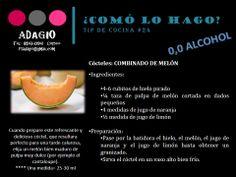 receta combinado de melón