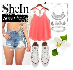 """SheIn"" by ernaa0 ❤ liked on Polyvore featuring Converse"