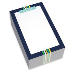 Navy Border Chunky Notepads