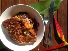 Soy and Sesame Roasted Chicken with Rainbow Veg Stir Fry