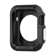 Spigen Rugged Armor Apple Watch Case with Resilient Shock Absorption and 2 Screen Protectors Included for Apple Watch Series 2 / 1 / Original – Black – Gadgets For Your Home Apple Watch 42mm, Apple Watch Serie 1, Best Apple Watch, Gold Apple Watch, Apple Watch Bands, Apple Watch Accessories, Cell Phone Accessories, Ipad, Shopping