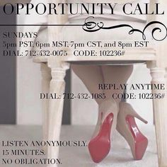 If you are a little curious about joining my team, listen to the replay and contact me. You won't regret it!