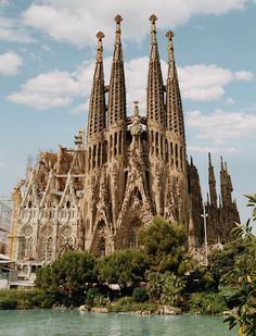 La Sagrada Familia, Barcelona Spain, see it completed.  My all-time favorite cathedral, I've visited twice during its construction.  Last time I saw it was in May 2008...