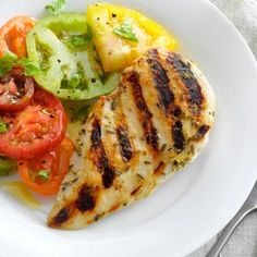 Rosemary-Lemon Grilled Chicken Recipe
