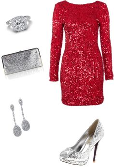 Sparkly Christmas Outfit christmas christmas ideas christmas outfits christmas fashion christmas clothes