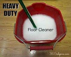 Day 319: Heavy Duty Floor Cleaner DIY   365ish Days Of Pinterest
