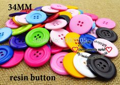 15PCS 34MM 4-Holes colors Dyed RESIN buttons coat boots sewing clothes accessories R-038 #>=#>=#>=#>=#> Click on the pin to check out discount price, color, size, shipping, etc. Save and like it!