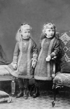 Marie Louise and Helena Victoria