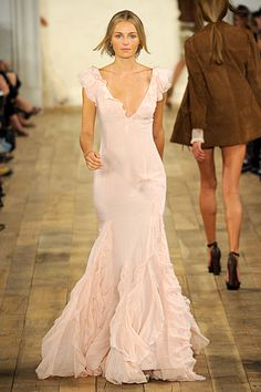 Would Be A Gorgeous Wedding Dress In Dupioni Maybe With A Little Lace RALPH LAUREN