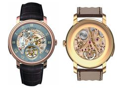 Blancpain's Le Brassus The clock tells the hour with a cathedral gong. Beautiful!