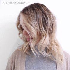 Perfect low maintenance blonde... Upkeep: 6months