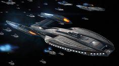 Star Trek Enterprise Ship, Star Trek Starships, Star Trek Voyager, Uss Enterprise, Zheng He, Spaceship Art, Spaceship Design, Star Trek Online, Starfleet Ships