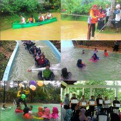 Perpustakaan Bunga Bangsa ƸӜƷ: Out Bond ke Jungle Water World Samarinda