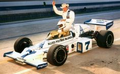 Lloyd Ruby, another great that unfortunately never was able to win at Indy. Indy Car Racing, Indy Cars, Racing Team, Diecast Airplanes, Model Airplanes, Marquee Events, Ground Effects, Indianapolis Motor Speedway, Old Race Cars