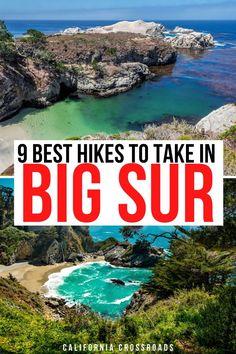 Want to go hiking in Big Sur, California? Here are all the most beautiful Big Sur hikes along the California Coast. Julia Pfeiffer Burns State Park hikes | Point Lobos hikes | hikes in Big Sur California | Hiking in Big Sur California | where to hike in Big Sur | Big Sur itinerary | Big Sur California Coast | Central Coast hikes | California coast hikes California Tours, Big Sur California, California Destinations, California Coast, Usa Travel Guide, Travel Usa, Travel Tips, Usa Places To Visit, Visit Usa