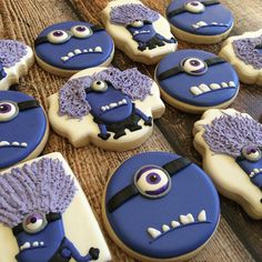 Evil minions #evilminions #minions #ventura... - Baked Perfection Cookies