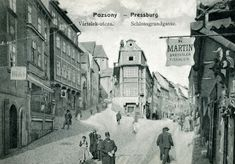 Bratislava, Street View, Painting, Times, History, Cities, Photos, Places, Painting Art