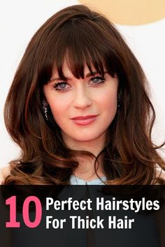The best hairstyles for your thick hair