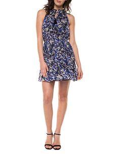 Brands | Casual & Sundresses | Printed Ruffle Neck Dress | Hudson's Bay