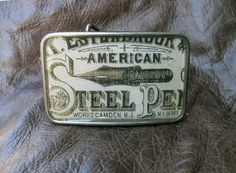 Victorian Advertisement for Steel Pens by FeliciaBleuRose on Etsy, $30.00