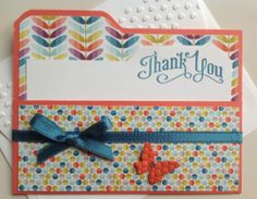 Stampin Up Thank You Card Kit with Markers in a Box