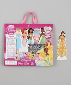 Take a look at this Princess Paper Doll Scrapbook Portfolio Kit by Disney on #zulily today!