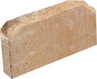 Pavestone Rumblestone 11 4 In Cafe Concrete Edger 95569