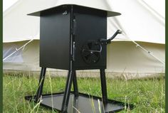 Bell Tent Stove through wall, hand-made in the UK Tent Stove, Camping Stove, Canvas Bell Tent, Stove Oven, Outdoor Living, Outdoor Decor, Diy Craft Projects, Crafts, About Uk