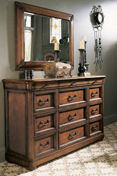 Shop the Twelve Drawer Triple Dresser by Fine Furniture Design at Furnitureland South, the World's Largest Furniture Store and North Carolina's Premiere Furniture Showroom. Large Furniture, Quality Furniture, Furniture Decor, Furniture Design, Poster Beds, Chest Of Drawers, Foyer, Free Design, Stove