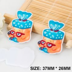 50pcs/lot New Kawaii Cartoon Shopkins Flatback Resins DIY Resin Crafts Planar Resin for Home Decoration Accessories DL-460