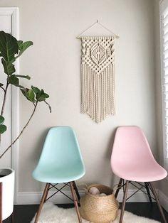 13 Modern DIYs to Try: Macrame Wall Hanging Pattern