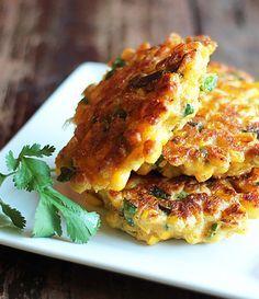 Jalapeno Corn Fritters - Very tasty! Easy. Better than cornbread