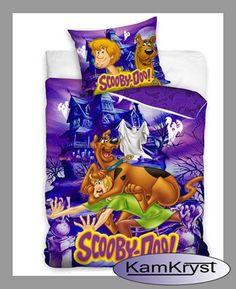 Bedding Scooby Doo 160x200   Pościel Scooby Doo 160x200 z kolekcji pościeli dziecięcych sklepu KamKryst #scoobydoo #scooby_doo #scoobydoo_bedding