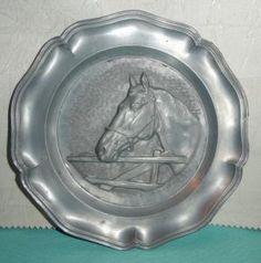 Kolekcjonerski talerz z koniem, cyna (5596076305) - Allegro.pl - Więcej niż aukcje.