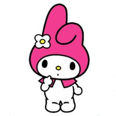 My Melody Sanrio - Is a sweet bunny character who always wears a pink or red hood.