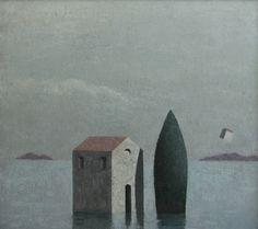 Matthias Brandes, Solitudine 7 #contemporary #art #painting
