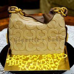 Coach Bag Cake