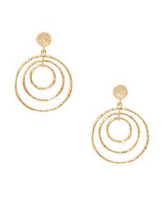 Melinda Maria Ashley Bullseye Drop Earrings