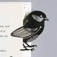 Silver Bird Metal Book Mark