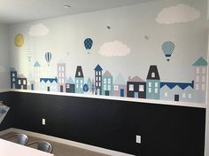 City Wall Decals Wall Decals Nursery Baby Wall Decal Kids