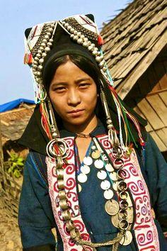 Akha woman - Laos.