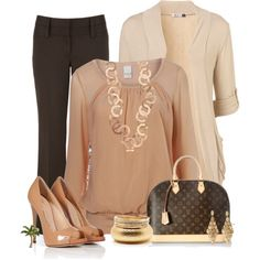 chic work outfits - Buscar con Google