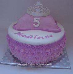Prinsessen verjaardagstaart