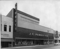 J.C. Penney Co. 312 S Barstow Street.  Eau Claire, Wisconsin.  Find more historical Eau Claire photos at http://www.ecpubliclibrary.info/research/general/history/1983-eau-claire-area-historical-photos.html.
