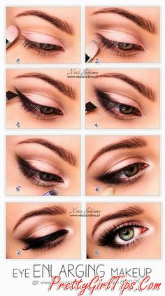 @prettygirltips Pink Smokey Eye Makeup Tutorial