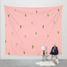 CACTUS Wall Tapestry by Sorbetedelimon | Society6