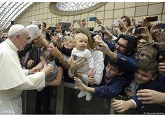 Catequésis del Papa Francisco: Compartir el Bautismo significa que todos somos pecadores y tenemos necesidad de ser salvados-Papa Francisco