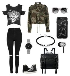 """polyvore"" by jesy-smith on Polyvore featuring mode, Boohoo, Topshop, Converse, Faith Connexion, McQ by Alexander McQueen, Ace, CLUSE, Casetify et Beats by Dr. Dre"