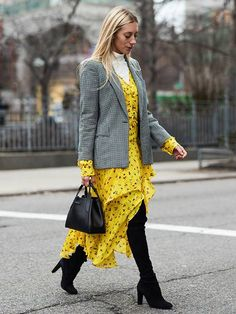 Best Dresses Street Style: 50 Images You Need to See | Who What Wear UK